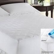 LCM Home Fashions, Inc. Waterproof Mattress Pad; Twin