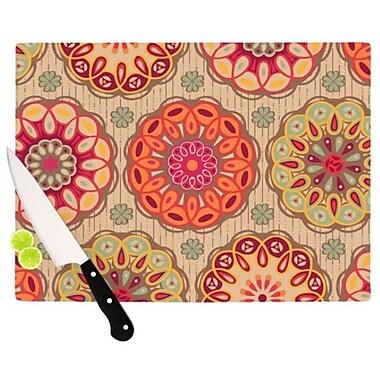 KESS InHouse Festival Folklore Cutting Board; 11.5'' H x 15.75'' W
