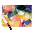 KESS InHouse Texture Cutting Board; 11.5'' H x 15.75'' W