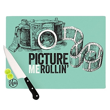 KESS InHouse Picture Me Rollin Cutting Board; 11.5'' H x 8.25'' W