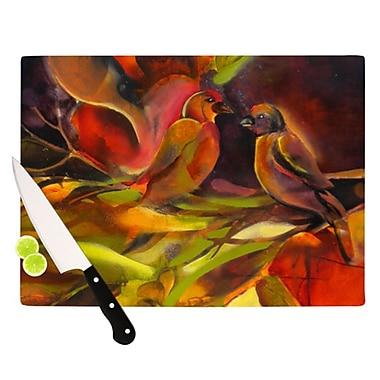 KESS InHouse Mirrored in Nature Cutting Board; 11.5'' H x 8.25'' W