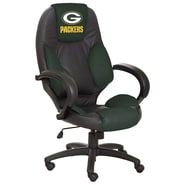 Tailgate Toss NFL Officially Licensed High-Back Office Chair; Green Bay Packers