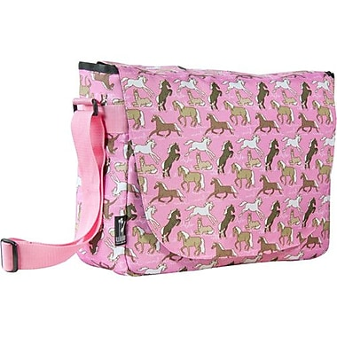 Wildkin Horses in Pink Laptop Messenger Bag