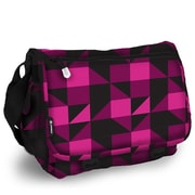 J World Terry Campus Messenger Bag; Pink