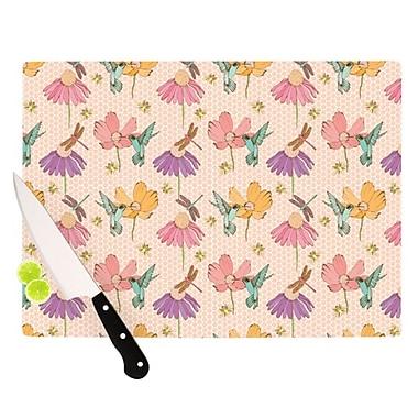 KESS InHouse Magic Garden Cutting Board; 11.5'' H x 15.75'' W