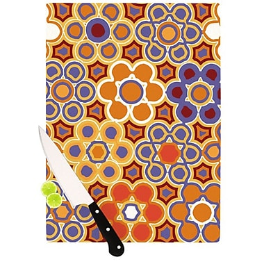 KESS InHouse Flower Garden Cutting Board; 11.5'' H x 8.25'' W