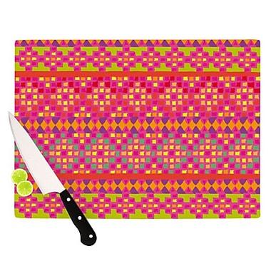 KESS InHouse Mexicalli Cutting Board; 11.5'' H x 8.25'' W