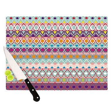 KESS InHouse Ayasha Cutting Board; 11.5'' H x 8.25'' W
