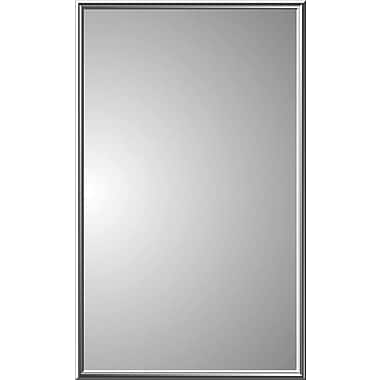 Zaca Spacecab Regulus 16'' x 26'' Recessed Medicine Cabinet; Brass