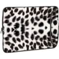 Designer Sleeves White Leopard Designer MacBook Sleeve; 13''