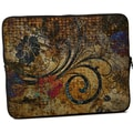 Designer Sleeves Vintage Fleur Designer MacBook Sleeve; 15''