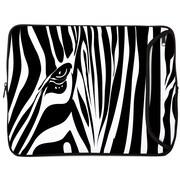Designer Sleeves Zebra Eye Designer PC Sleeve; 15''