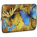 Designer Sleeves Butterflies 2 Designer PC Sleeve; 14''
