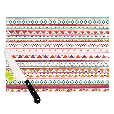 KESS InHouse Native Bandana Cutting Board; 11.5'' H x 8.25'' W