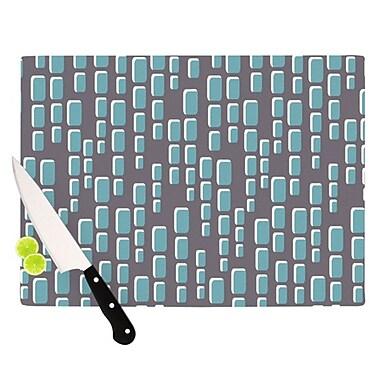 KESS InHouse Cubic Geek Chic Cutting Board; 11.5'' H x 15.75'' W