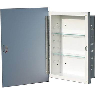 American Pride Reflection 16.19'' x 22.25'' Recessed Medicine Cabinet