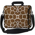 Designer Sleeves Executive Sleeves Giraffe PC Laptop Bag; 13''