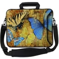 Designer Sleeves Executive Sleeves Butterflies 2 PC Laptop Bag; 17''