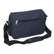 Everest Casual Messenger Bag; Navy