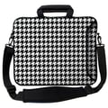 Designer Sleeves Executive Sleeves Hounds Tooth PC Laptop Bag; 17''