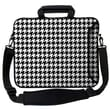 Designer Sleeves Executive Sleeves Hounds Tooth PC Laptop Bag; 13''