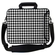 Designer Sleeves Executive Sleeves Houndstooth PC Laptop Bag; 14''
