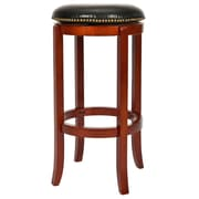 Safavieh Aidan 24'' Swivel Bar Stool with Cushion