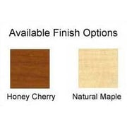 High Point Furniture Forte 28'' W Pullout Keyboard Platform; Honey Cherry