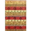 Bashian Rugs Punjab Multi-Colored Rug; 5' x 7'6''