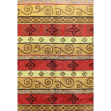 Bashian Rugs Punjab Multi-Colored Area Rug; 7'6'' x 9'6''