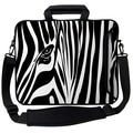 Designer Sleeves Executive Sleeves Zebra Eye PC Laptop Bag; 14''