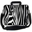 Designer Sleeves Executive Sleeves Zebra Eye PC Laptop Bag; 14''