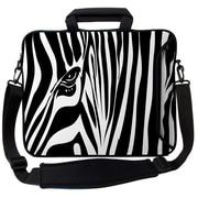 Designer Sleeves Executive Sleeves Zebra Eye PC Laptop Bag; 15''