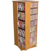Venture Horizon VHZ Entertainment 928 CD Multimedia Revolving Tower; Oak