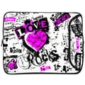 Designer Sleeves Love Rocks Designer MacBook Sleeve; 15''