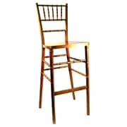 Advanced Seating Chiavari 30'' Bar Stool; Gold