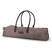 Crescent Moon Metro Yoga Bag in Brown / Brown
