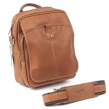 Claire Chase Classic Messenger Bag; Saddle