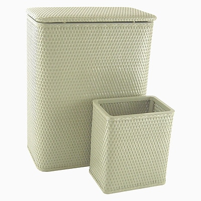 Redmon Chelsea Laundry Basket and Waste Basket