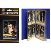 C & I Collectibles NBA Licensed 2010-11 Donruss Team Set Plus Storage Album; Toronto Raptors