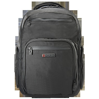 ECBC Hercules Laptop Backpack; Black
