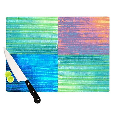 KESS InHouse Crayon Batik Cutting Board; 11.5'' H x 8.25'' W