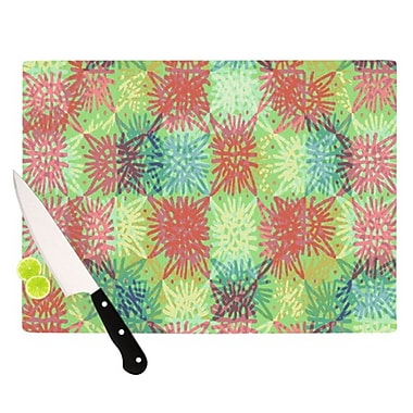 KESS InHouse Multi Lacy Cutting Board; 11.5'' H x 8.25'' W