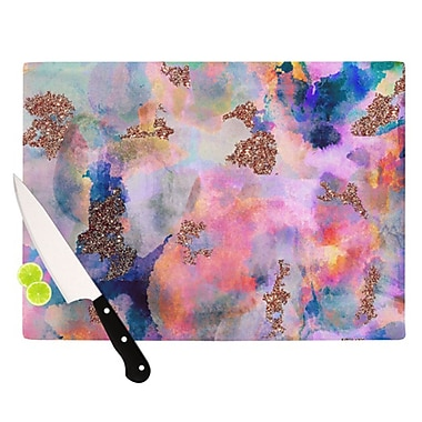 KESS InHouse Sparkle Mist Cutting Board; 11.5'' H x 8.25'' W