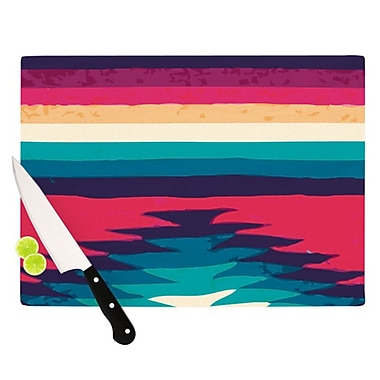 KESS InHouse Surf Cutting Board; 11.5'' H x 8.25'' W