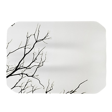 KESS InHouse Winter Placemat; White