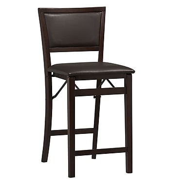 Linon Triena 24'' Bar Stool with Cushion