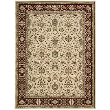 Nourison Persian Crown Cream Area Rug; 3'9'' x 5'9''