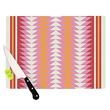KESS InHouse Bomb Pop Cutting Board; 11.5'' H x 15.75'' W