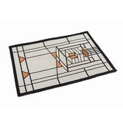 Rennie & Rose Design Group Frank Lloyd Wright   Robie House Placemat (Set of 4)